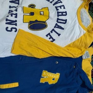 RIVERDALE CHEERLEADER VIXENS LETTERMAN SHIRT